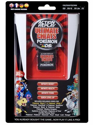 Datel Action Replay Ultimate Cheat-Modul Adapter für Pokemon DSi / XL DS Spiel