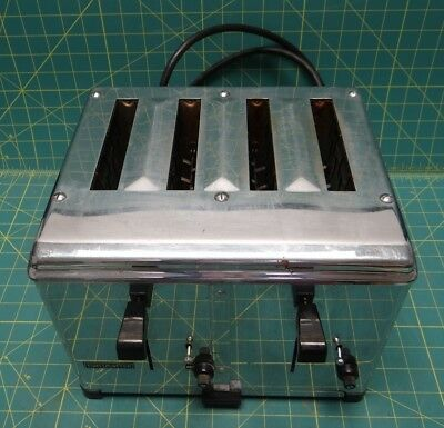 Toastmaster Automatic Pop-Up Toaster Model 1D2 Heavy Duty 2450 Watts
