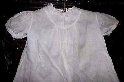 Antique 1800s Lovely Victorian Ornate Embroidered Dress Christening Gown Dress