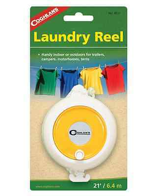 Coghlan's Laundry Reel for RV / Camper / Trailer / Pop-Up ***FREE SHIPPING***