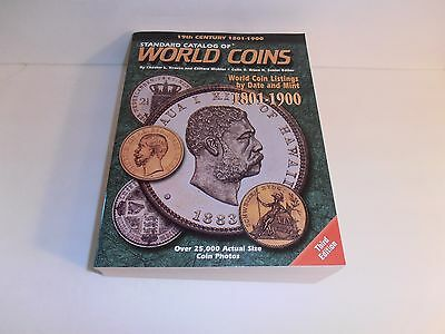 19th Century 1801-1900 Standard Catalog of World Coins by Krause & Mishler
