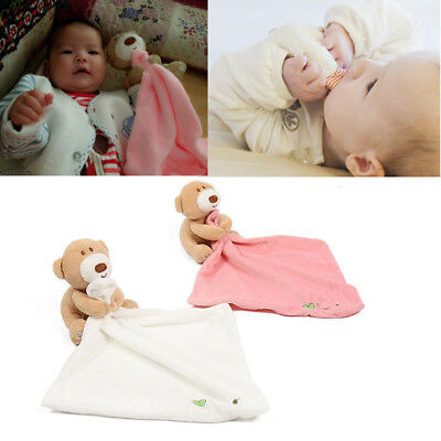 Baby Soothing Towel Security Blanket Animal Shape Soothing Towel For Baby Biting