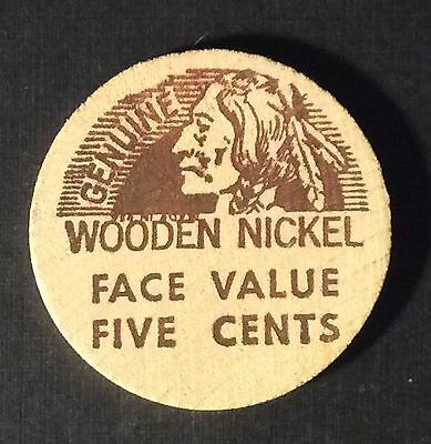 SARASOTA COIN Sarasota Florida Wooden Nickel