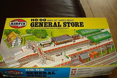 Vintage Airfix General Store HO/OO Model Kit