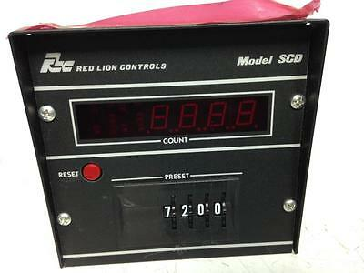 Red Lion Controls SCD Preset Counter SCD00400 00400 Time Delay 4 Digit