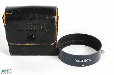 Yashica 57mm Metal Clamp On Lens Shade with Case