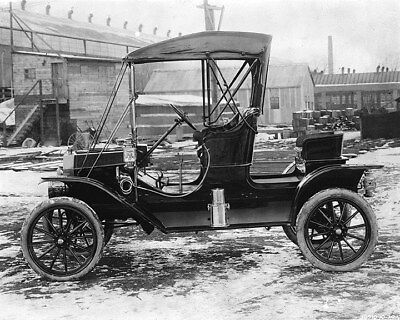1912 ? Ford Model T Runabout Factory Photo ca8025
