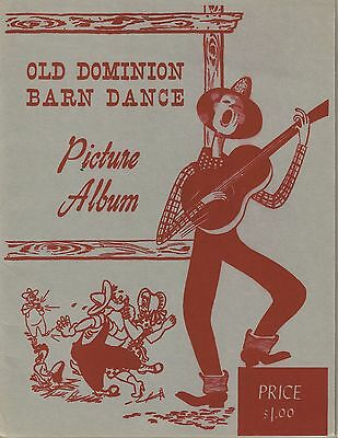 WRVA Radio Dominion Barn Dance Picture Portfolio Mid-1940s - Grand Ole Opry