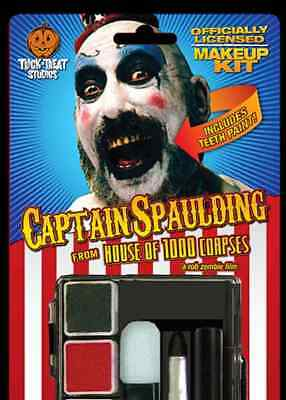 Captain Spaulding Makeup House 1000 Corpses Clown Halloween Costume Accessory