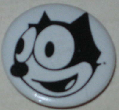 "Felix  the Cat ""Smiling"" Pin 1"" Licensed"