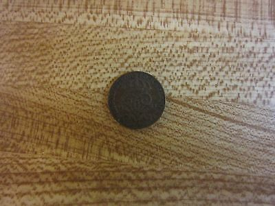 Original Swedish 1 Öre Bronze Coin 1925