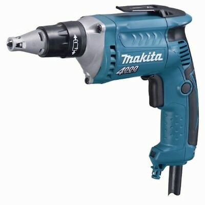 Makita FS4200A Drywall Screwdriver, 6 AMP, 0-4,000 RPM, LED Light w/50 ft. cord