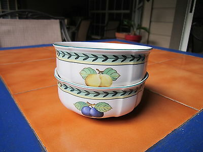 Villeroy & Boch PETITE FRUIT - TWO Fruit Bowls with one - Win Stock UP