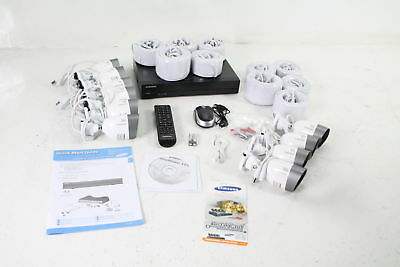 Samsung SDH-C75100 16 Channel 1080p HD 2TB Home Security System with 10 Camera