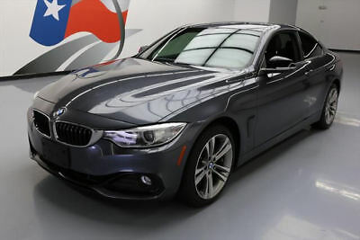 2014 BMW 4-Series Base Coupe 2-Door 2014 BMW 428I XDRIVE AWD SPORT SUNROOF HTD SEATS 35K MI #196627 Texas Direct