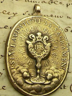 Spanish Colonial Shipwreck Feast of Corpus Christi Immaculate Conception Medal