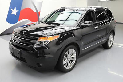 2014 Ford Explorer  2014 FORD EXPLORER LIMITED DUAL SUNROOF NAV LEATHER 56K #B41990 Texas Direct