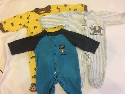 0-3 Month Snap Sleeper Lot Of 3