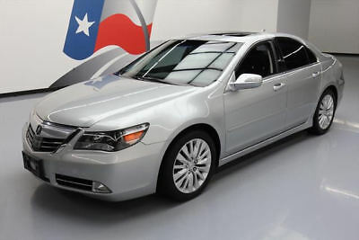2012 Acura RL Base Sedan 4-Door 2012 ACURA RL TECH SH-AWD SUNROOF NAV REAR CAM 44K MI #000118 Texas Direct Auto