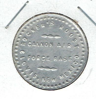Clovis, New Mexico Military Trade Token ROCKER'S ROOST