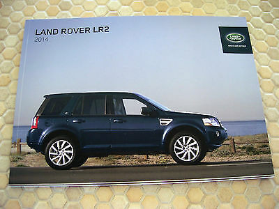 Land Rover Lr2 Series Official Prestige Sales Brochure 2014 Usa Edition