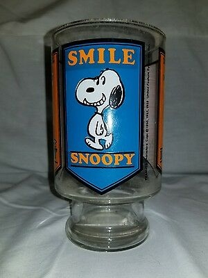 "large snoopy glass ""smile"""
