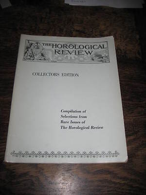 The Horological Review Magazine 1918 Collectors Edition Compilation Rare Issues