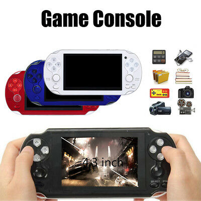 4.3'' PSP Portable Handheld Game Console Player 300 Games Built-in Video Camera