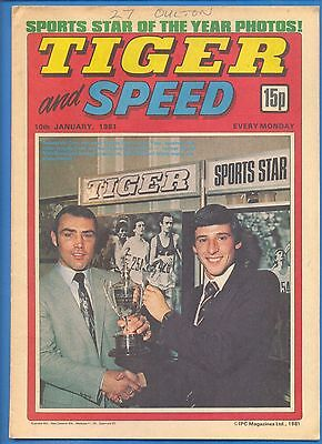 TIGER AND SPEED COMIC.10th JANUARY 1981.