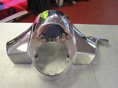 Vespa Px 125 Px125 Chrome Fa Italia Headset Handle Bar Cover Quality