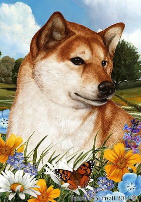 Garden Indoor/Outdoor Summer Flag - Shiba Inu 183251