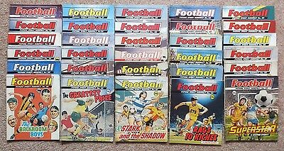 Football Picture Story Monthly: 30 comics numbers between 21 & 59 issued 1987-88