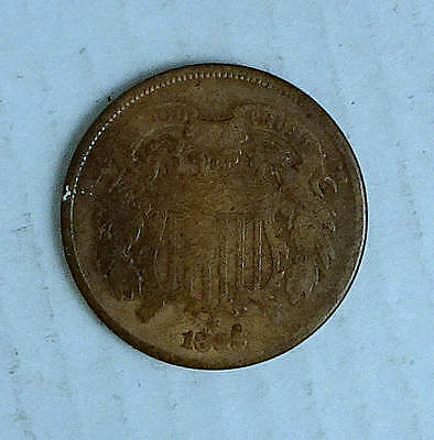 Two Cent Piece; 1865