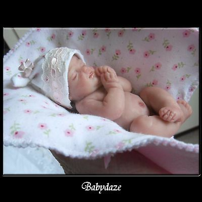 "Beautiful Chunky  4"" Artist Baby Girl"