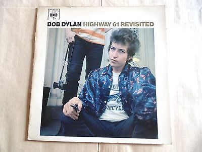 """Vinyles.33 Tours.bob Dylan.""""highway 61 Revisited"""".cbs.62572"""