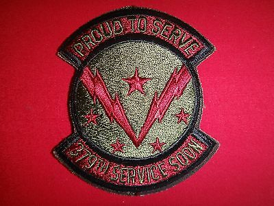 US Air Force 379th Service Squadron PROUD TO SERVE Patch