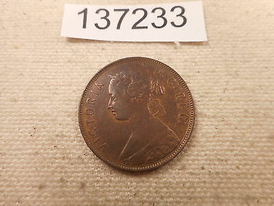 1880 Newfoundland Large Cent Very Nice Collectible Higher Grade Coin - # 137233