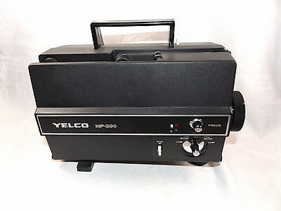 Vintage Yelco MP-290 8mm Movie Projector Regular/Super 8 ~ For Parts or Repair