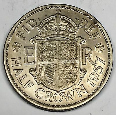 C3659    Great  Britain    Coin,    Half  Crown    1957