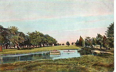 Early 1900's The Country Club in Charleston, SC South Carolina PC