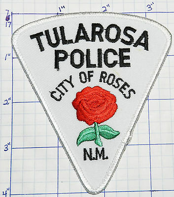 New Mexico, Tularosa Police Dept Roses Patch