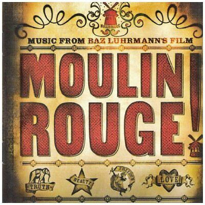 Ost Moulin Rouge Motion Picture Soundtrack Cd Music New