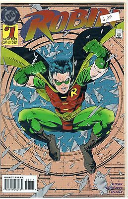 1993 ROBIN #1 Foil Embossed Cover DC Comic Book