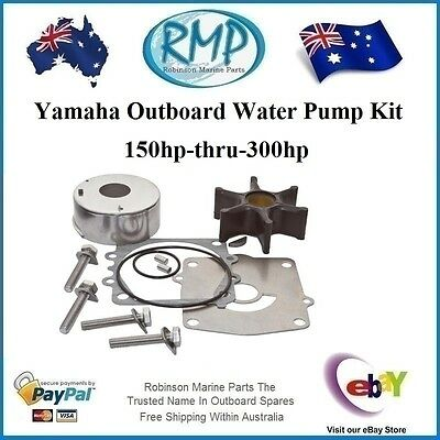 A New RMP Water Pump Kit Yamaha V6  2 and 4 Strokes 1992-Thru-2017 # R 61A-W0078