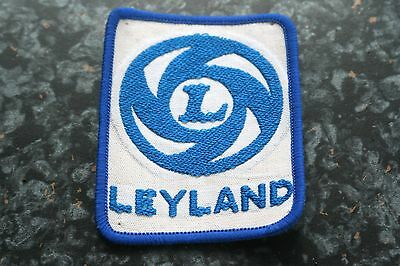 Old Leyland Cloth Badge / Patch ~~ Jackets Overalls etc