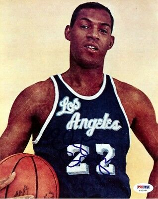 Elgin Baylor Authentic Autographed Signed 8x10 Photo Los Angeles Lakers PSA/DNA