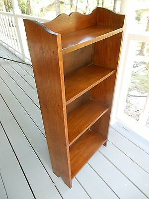 NEAT Smaller Oak Open Bookcase Or Bookshelf from England