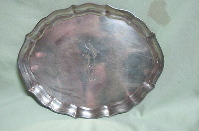 Vintage  Gorham Chippendale Sterling Small Tray