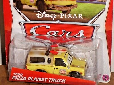 Disney Pixar Cars Todd the PIZZA PLANET Truck Die Cast New