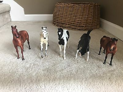 Lot of 20 Breyer Horses EUC